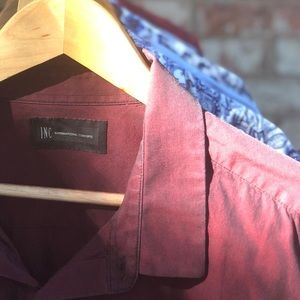 2XL INC Men's Shirt - Maroon